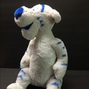 disney white blue striped winter tigger